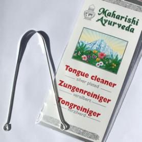 Tungeskrape Sølvbelagt